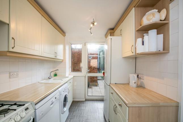 Kitchen of Bingen Road, Hitchin, Hertfordshire, England SG5
