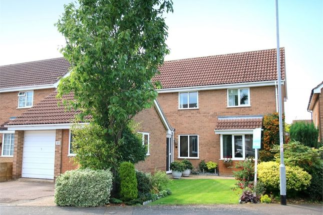 Thumbnail Detached house for sale in Meadowsweet, Eaton Ford, St. Neots
