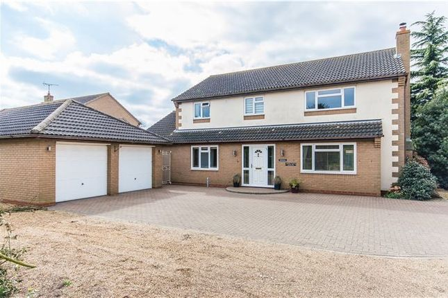 Thumbnail Detached house for sale in School Lane, Chittering, Cambridge