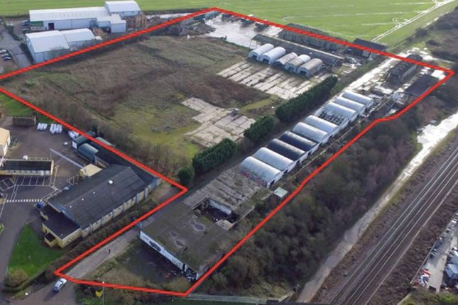 Thumbnail Land for sale in Site At Station Road, Broadway, Yaxley, Peterborough, Cambridgeshire