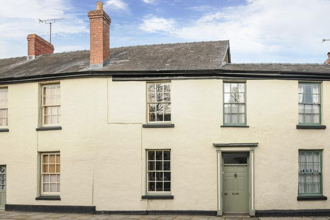 Thumbnail Terraced house for sale in Presteigne, Powys