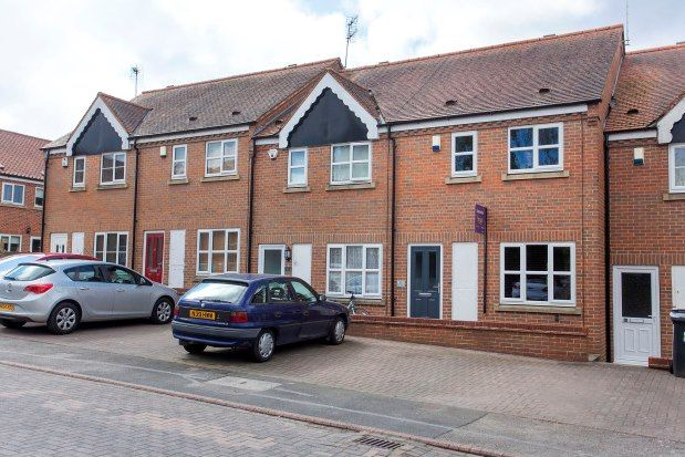 Thumbnail Town house to rent in Foss Court, York