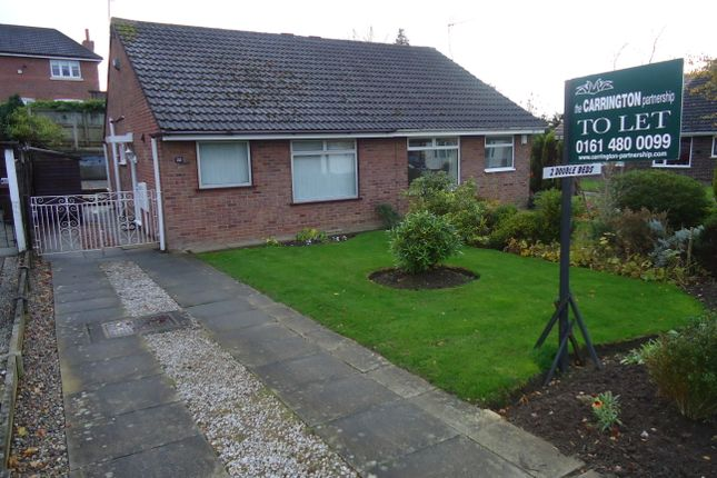Thumbnail Detached bungalow to rent in Lorgill Close, Davenport, Stockport