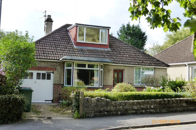 Thumbnail Detached bungalow to rent in Malmesbury Road, Chippenham