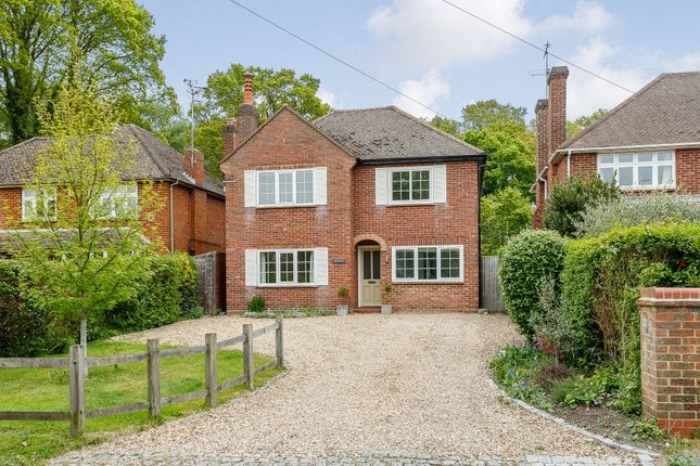Thumbnail Detached house for sale in Chapel Lane, Pirbright, Woking