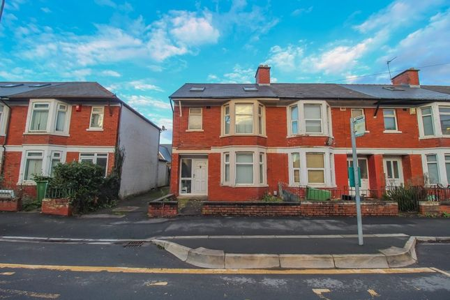 Thumbnail End terrace house for sale in Maindy Road, Cathays, Cardiff