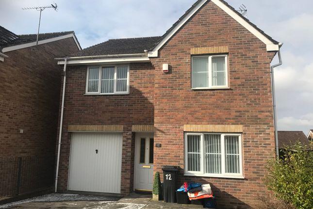 Thumbnail Detached house to rent in Oaktree Rise, Twynyrodyn, Merthyr Tydfil