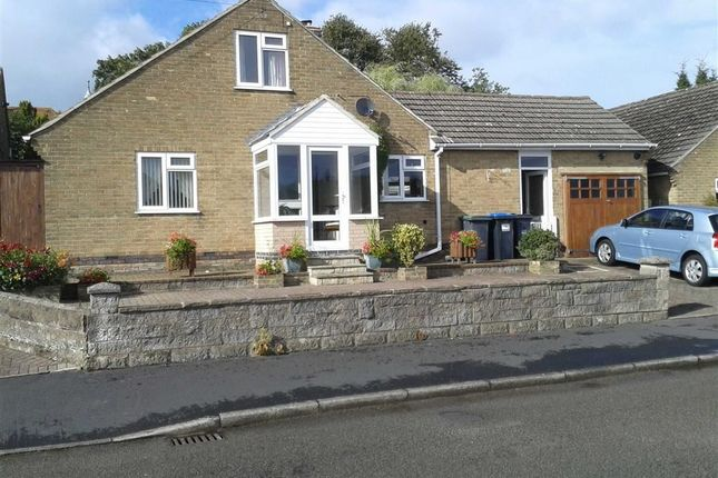 Thumbnail Detached bungalow for sale in Pittywood Road, Wirksworth, Derbyshire