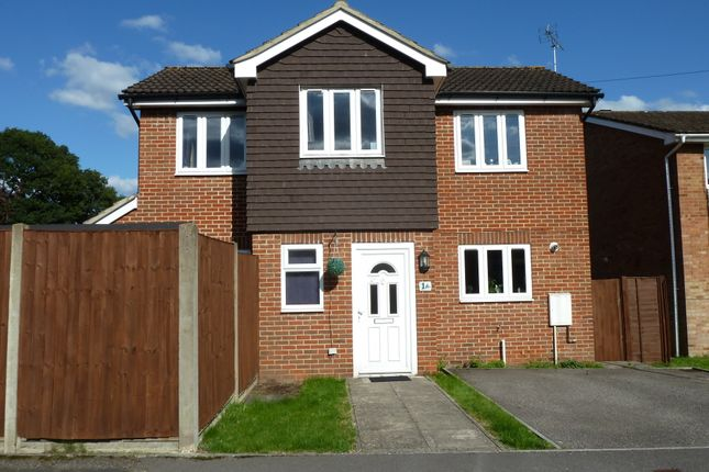 Thumbnail Detached house for sale in Alma Road, Bordon