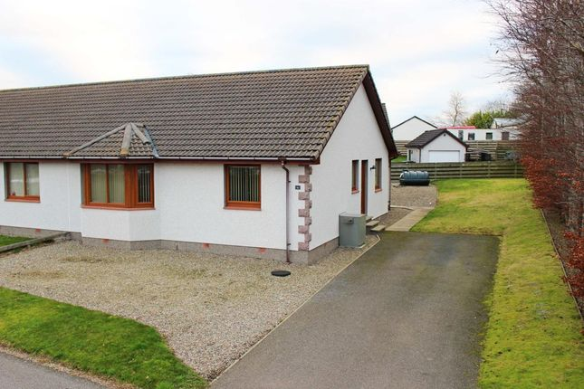 Thumbnail Bungalow to rent in Monks Walk, Fearn, Tain