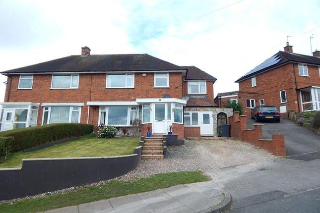 Thumbnail Semi-detached house for sale in Verbena Road, Bournville Village Trust, Birmingham
