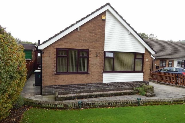 Thumbnail Detached bungalow for sale in Hawthorn Close, Chinley, High Peak