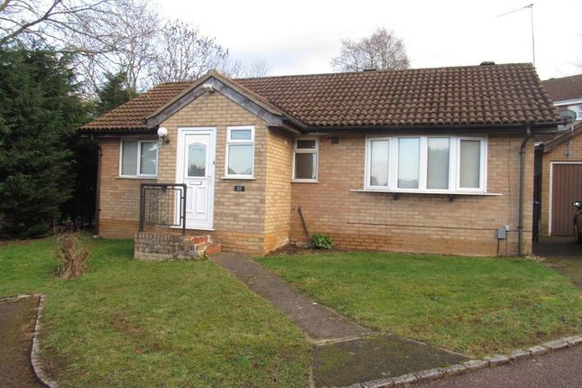 Thumbnail Bungalow to rent in Five Acres Fold, Hunsbury Hill, Northampton