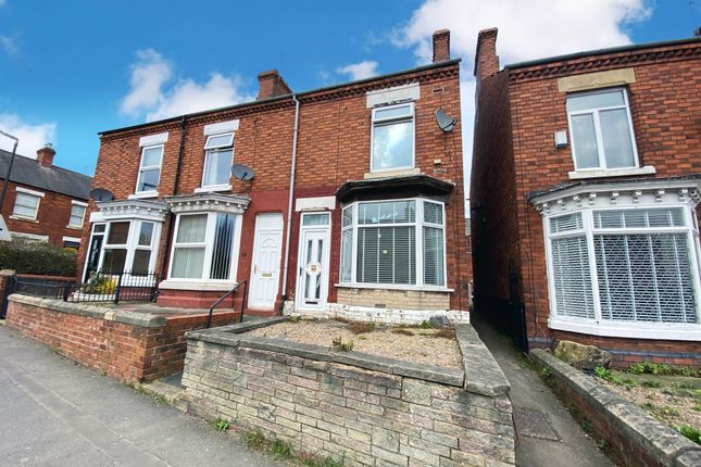 2 bed terraced house for sale in Welbeck Street, Whitwell, Worksop S80
