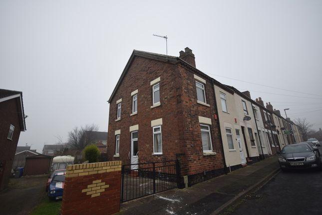 Thumbnail End terrace house to rent in Pool Street, Fenton, Stoke-On-Trent