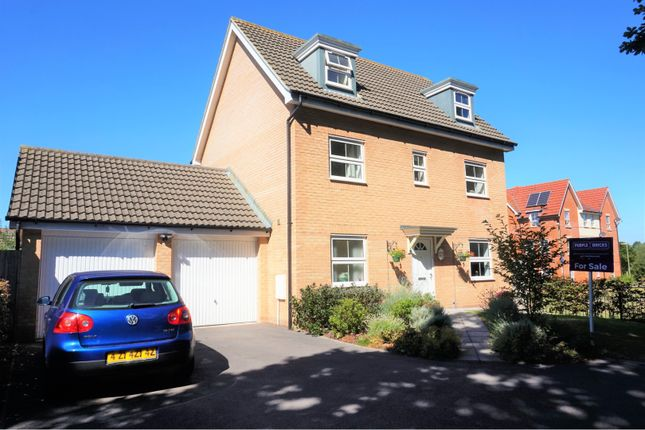 Thumbnail Detached house for sale in Wellstead Way, Hedge End