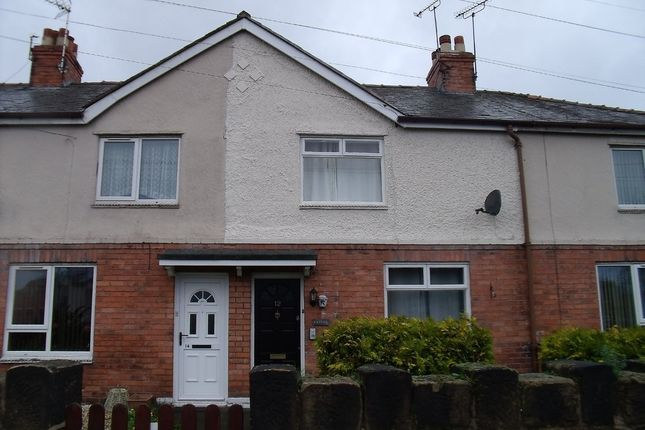 Thumbnail Terraced house for sale in Brynycabanau Road, Wrexham