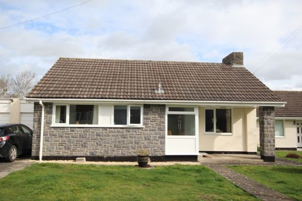 Thumbnail Detached bungalow for sale in Broderip, Cossington, Bridgwater