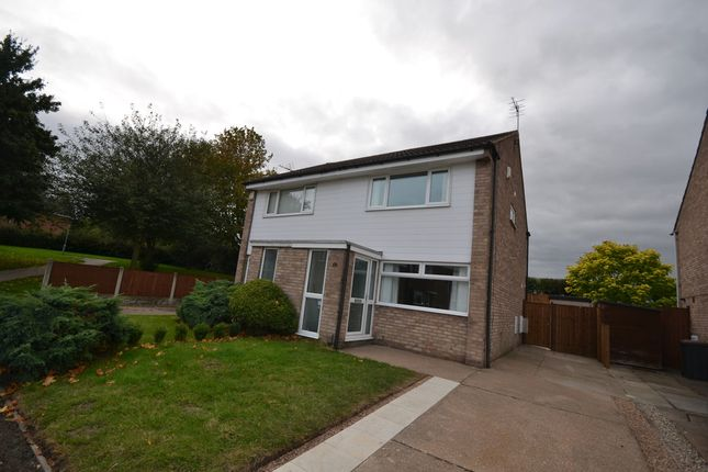 Thumbnail Semi-detached house to rent in Sloan Drive, Bramcote, Nottingham