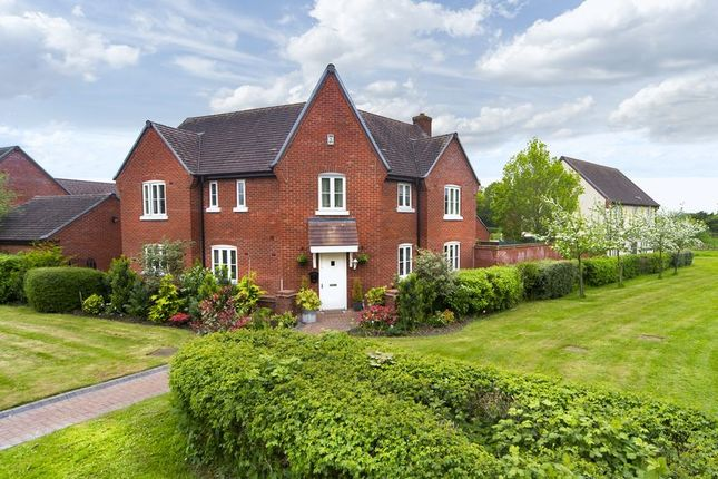 Thumbnail Detached house for sale in Stocking Park Road, Lightmoor, Telford