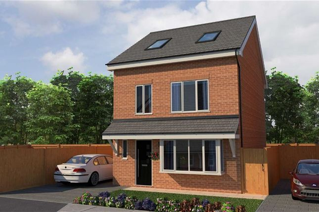 Thumbnail Town house for sale in Morris Meadow, Whitefield, Manchester