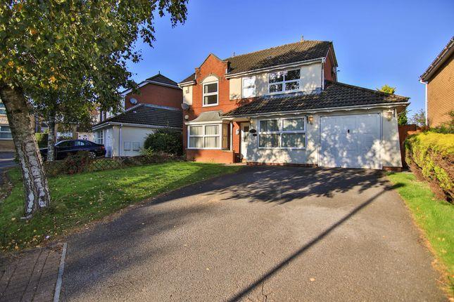 Thumbnail Detached house for sale in Lascelles Drive, Pontprennau, Cardiff