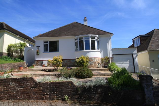 Thumbnail Detached bungalow for sale in Rougemont Avenue, Torquay