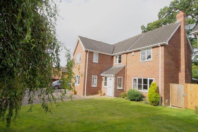 Thumbnail Detached house for sale in Harry Daniels Close, Wymondham