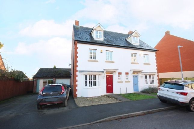 Semi-detached house for sale in Old School Mead, Bidford On Avon
