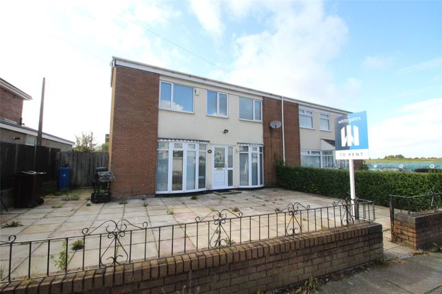 Semi-detached house to rent in Ashbourne Crescent, Liverpool, Merseyside