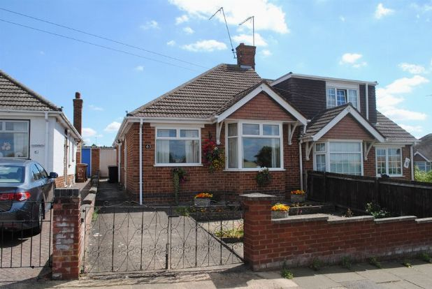 Thumbnail Semi-detached bungalow for sale in North Western Avenue, Kingsthorpe, Northampton