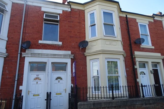 Thumbnail Flat to rent in Ladykirk Road, Benwell, Newcastle Upon Tyne