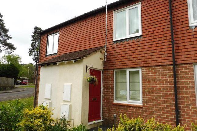 Thumbnail Terraced house to rent in Grafton Close, Whitehill, Bordon