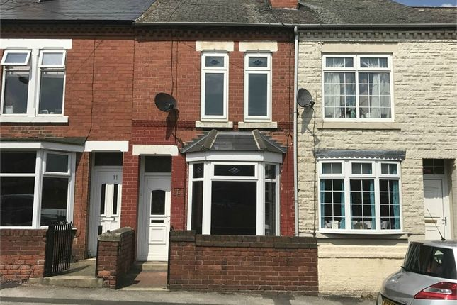 Thumbnail Terraced house to rent in James Street, Worksop, Nottinghamshire