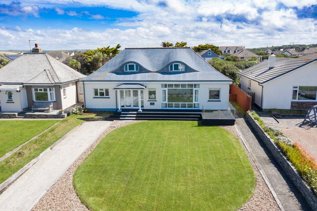 Thumbnail Detached bungalow for sale in Marine Drive, Widemouth Bay, Bude