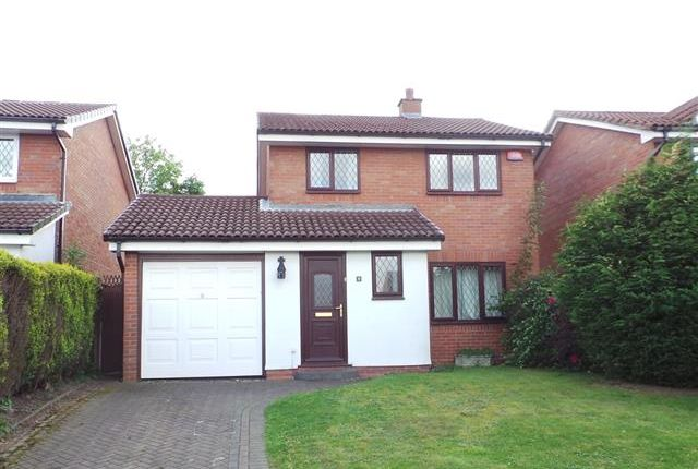 Thumbnail Detached house for sale in Shenstone Close, Four Oaks, Sutton Coldfield