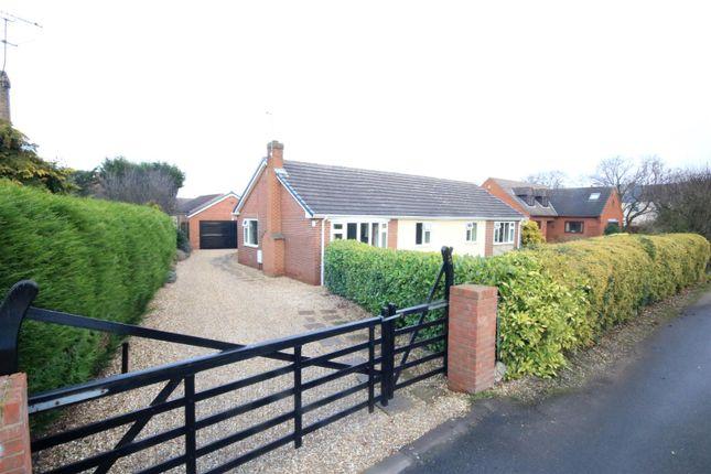Thumbnail Detached bungalow for sale in Park Lane, Blaxton, Doncaster