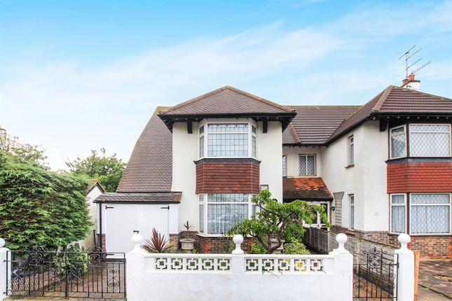 Thumbnail Semi-detached house for sale in St. Keyna Avenue, Hove
