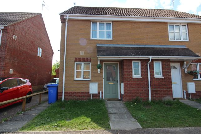 Thumbnail Semi-detached house to rent in Regan Close, Lowestoft