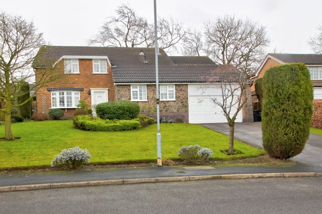 Thumbnail Detached house for sale in The Hawthorns, Markfield