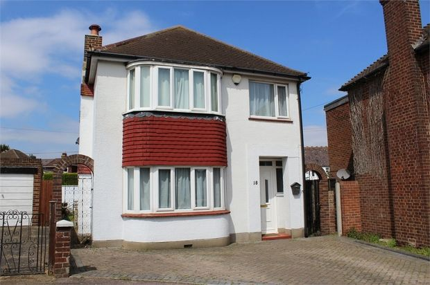Thumbnail Detached house for sale in Derby Road, Darland, Kent