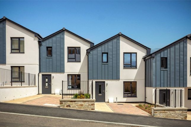 Thumbnail Detached house for sale in The Courtyard, Duporth, St. Austell, Cornwall