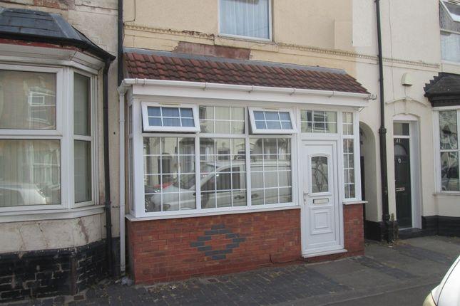 Thumbnail Terraced house to rent in Carlton Road, Small Heath, Birmingham