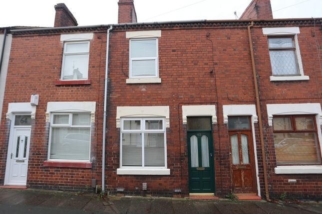 2 bed terraced house to rent in Oxford Street, Penkhull ST4