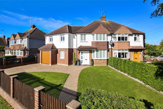 4 bed semi-detached house for sale in Canada Road, Cobham, Surrey KT11