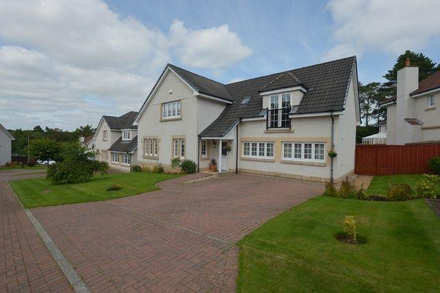 Thumbnail Detached house for sale in Bellefield Crescent, Lanark, South Lanarkshire