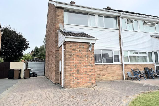 3 bed semi-detached house for sale in South Drive, Newhall, Swadlincote DE11
