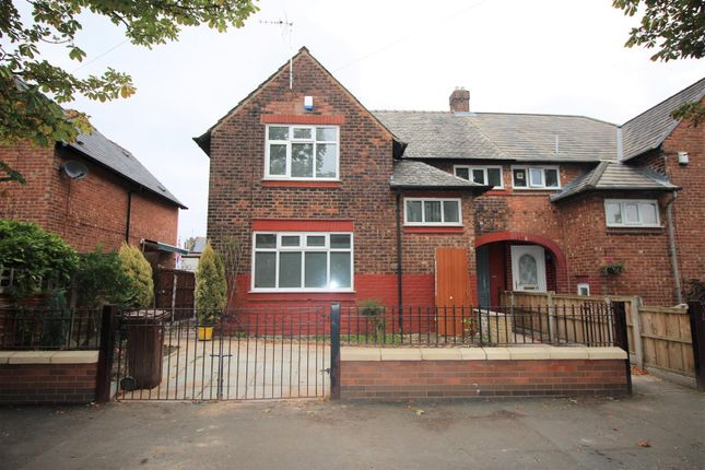Thumbnail Property to rent in Erskine Road, Blackley, Manchester