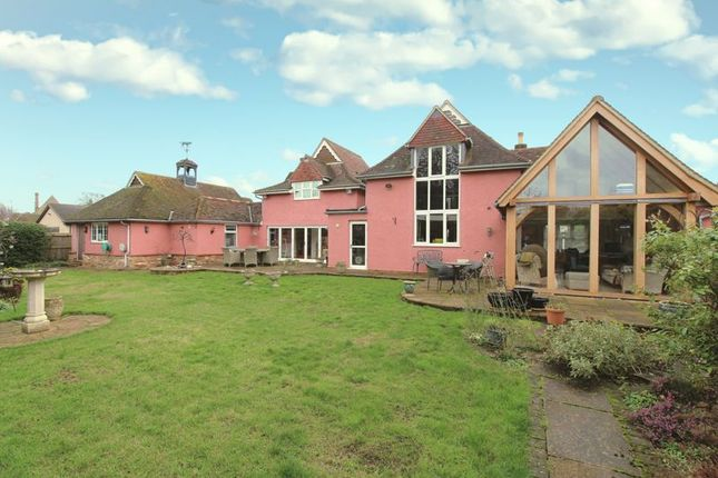 Thumbnail Detached house for sale in Church Road, Willington