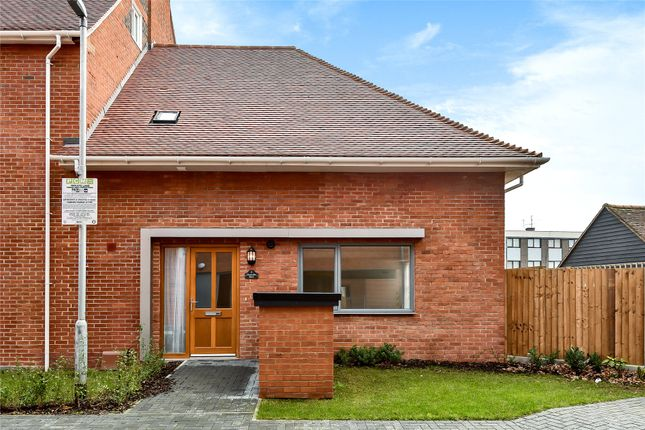 Thumbnail End terrace house to rent in Chancellor Drive, Frimley, Camberley, Surrey